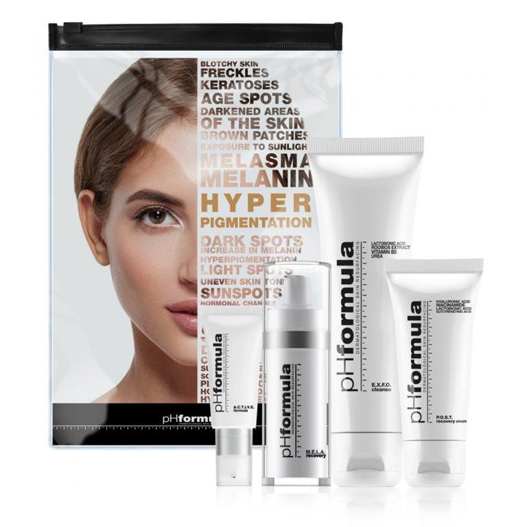 M.E.L.A skin resurfacing homecare kit