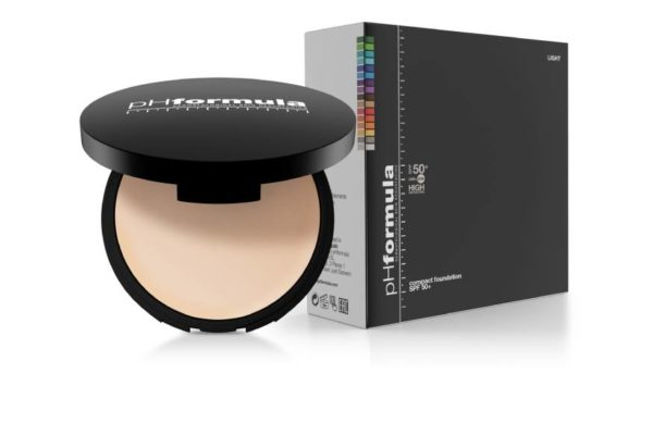 SPF50 compact foundation light-web
